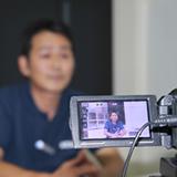 インタビュー動画撮影